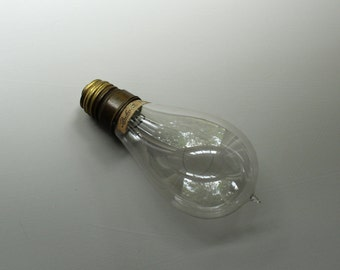 Original Packard Light Bulb, Early Electric Light Bulb, 1900- 1920 Packard Light Bulb