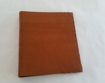leather 3 ring binder etsy