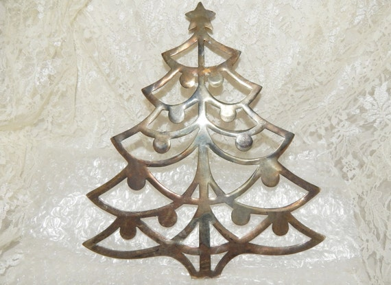 image 0 - Silver Plated Christmas Tree Decorations