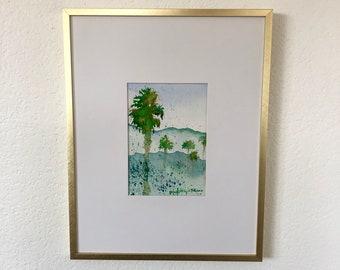 Paradise - Original Watercolor Painting