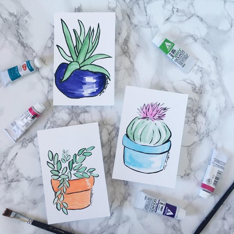 Succulents  Print image 0
