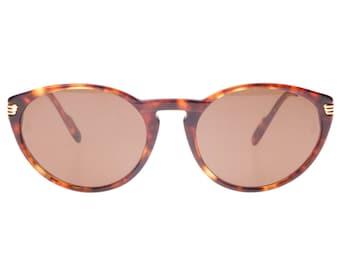 26c4374ec30 Cartier Paris Jaspe brown tortoise cateye sunglasses for ladies