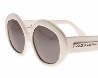 418d93cffa99 Dolce   Gabbana retro oversized hollywood diva sunglasses in tortoise or  white cello