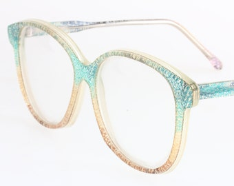7898c5c918 Missoni GreenSystem 80s cateye oversized eyeglasses