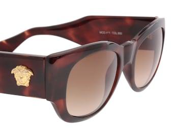 cfa4a4c02aa Gianni Versace 413 vintage 80s square sunglasses
