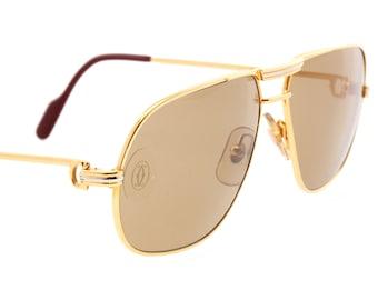 cadbaec2ac Cartier Tank aviator sunglasses