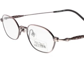 13d4f1216f4ba Jean Paul Gaultier 55-9014 vintage oval steampunk eyeglasses