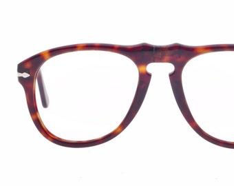 627911355a Persol 649 classic tortoise cello aviator eyeglasses frames hand made in  Italy