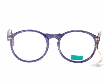 985f90ae272c Kenzo handmade in France retro round thick panto eyeglasses frames