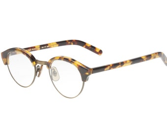 723ae7a348a Oliver Peoples MP 15 DTB AG vintage made in Japan antique brass   tortoise  round - pantos clubmaster eyeglasses frames