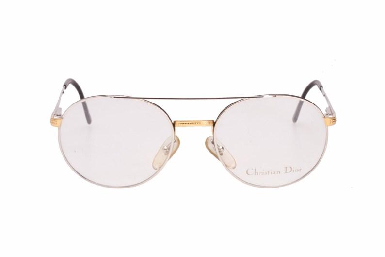 44751d683051 Christian Dior 2779 vintage round double bridge silver