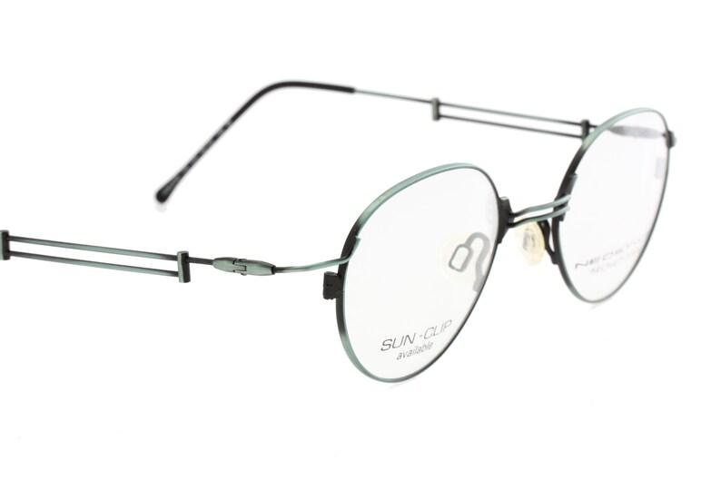 b8cd76d6513 Neostyle College 90s modernist avant garde oval eyeglasses