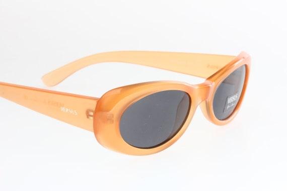 5eec848e8f6 Versus by Gianni Versace VS8 retro 60s oval sunglasses space