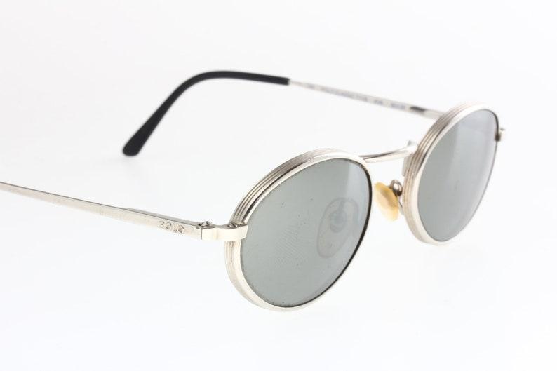 6163e1452ecc Polo Classic 771 S 90s oval sunglasses silver metal frame