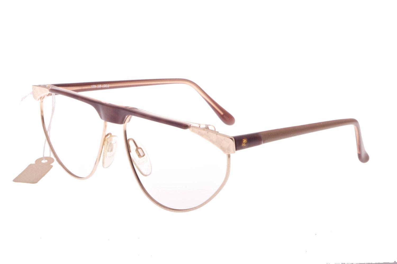 f7d6b6f2aec4 Karl Lagerfeld beautiful flat top havana   gold eyeglasses