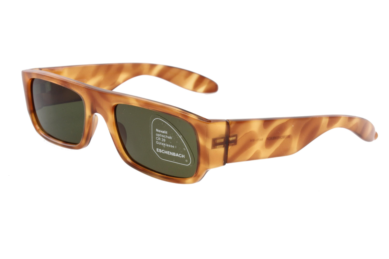 Eschenbach 6470-614 80s hipster square sunglasses slim design