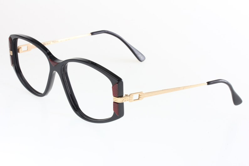 d509c13f2f Yves Saint Laurent Eris 80s cateye eyeglasses frame black