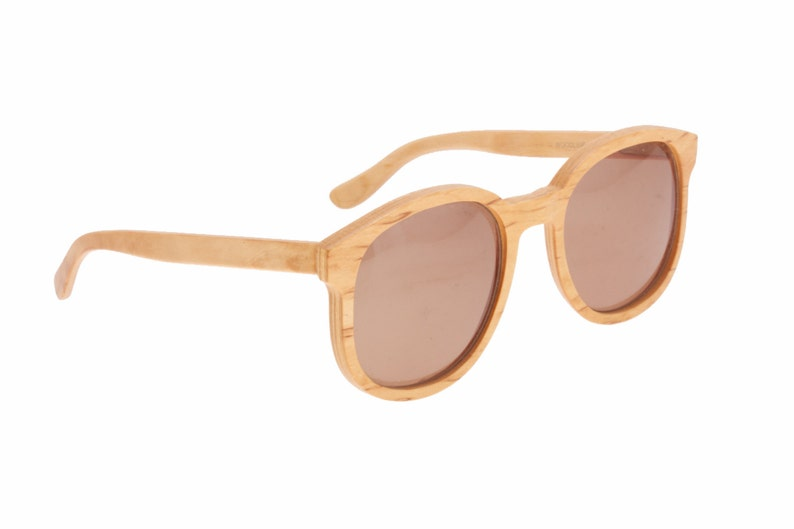 be7796c28d442 Jean Lempereur Woodline rare early real light wood sunglasses
