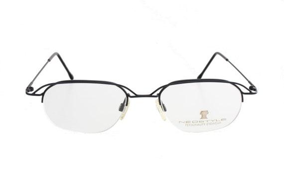 d82b9e50e1d Neostyle 90s modernist avant garde eyeglasses ultraslim black