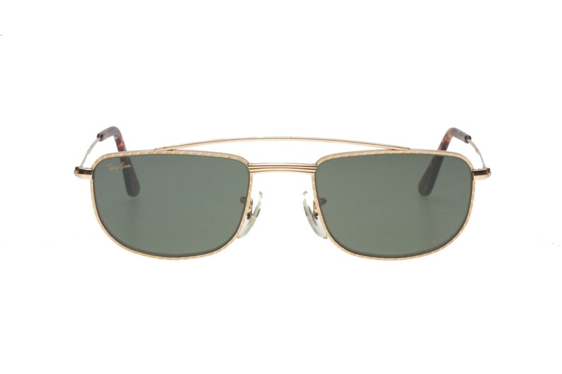 d160578d3b911 Rayban Bausch   Lomb rare W1756 24K gold vintage squared