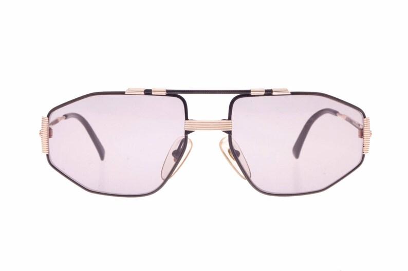 bc12721956d Christian Dior 2516 sunglasses black   gold vintage 80s classy