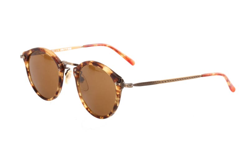 0eb89cc522960 Oliver Peoples 505 382 AG vintage 80s round great Gatsby