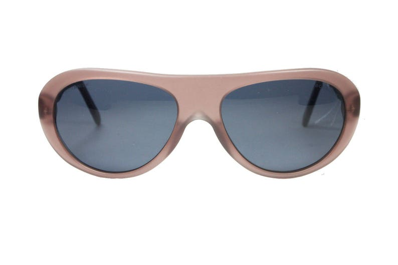 6c12fe6deb02 Chanel matte cello aviator sunglasses signature matelassè arm