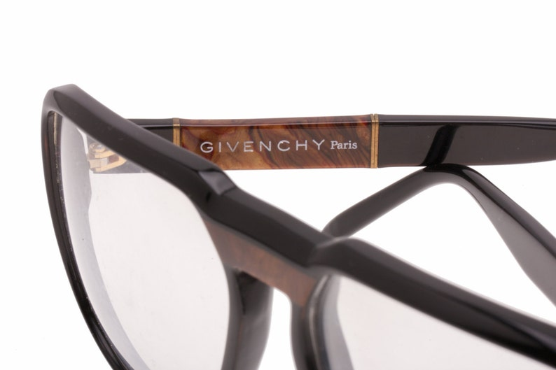 108408e75c Givency vintage black or demi blonde cello aviator spectacles