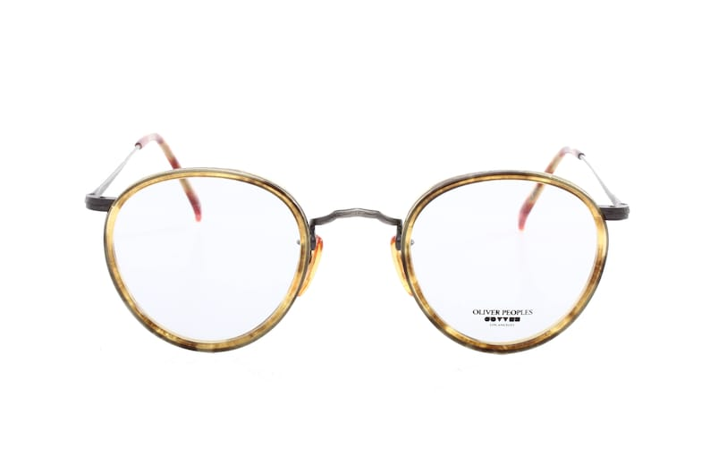 7296923542 Oliver Peoples MP2 vintage 80s neoclassic decò round