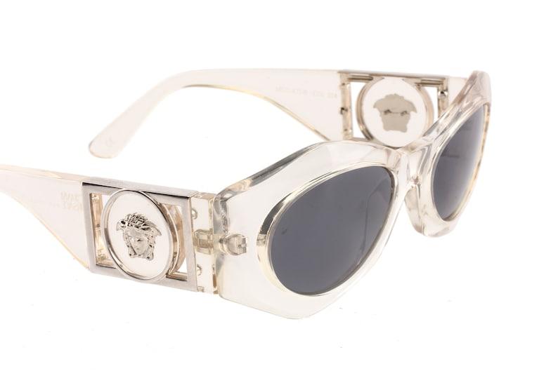 ac2dc9824191 Gianni Versace mod. 422 sunglasses rare celar acetate medusa
