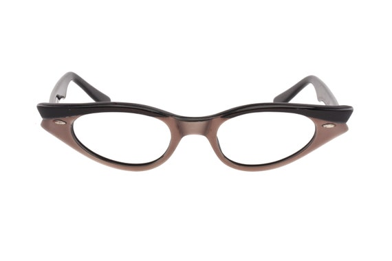 c77c8c8739 Lozza Dafne 50s cateye glasses frames black cello with