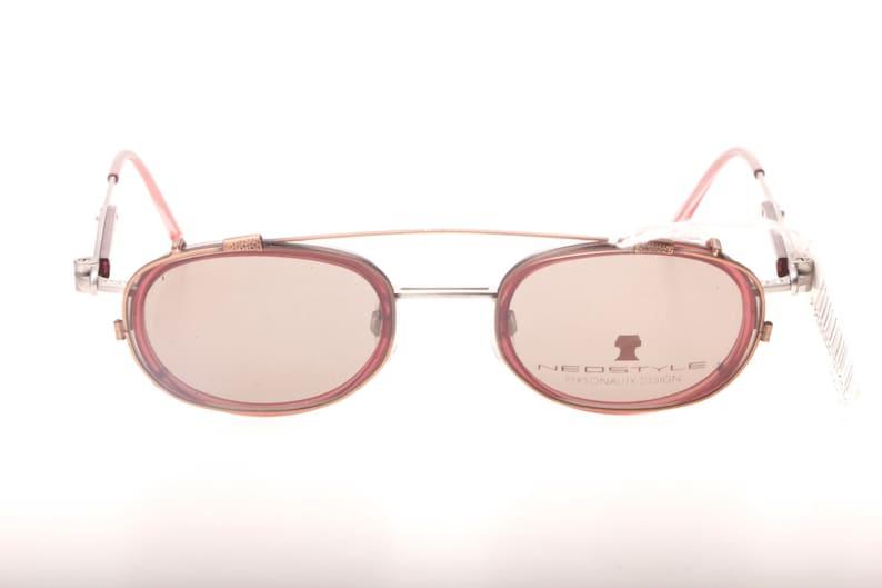 c557df2f3eb Neostyle cool square steampunk eyeglasses frames in gunmetal