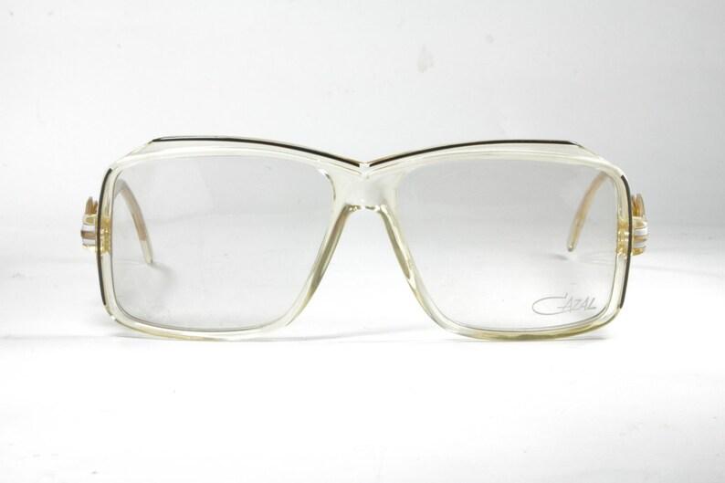 b2831597fea3 Cazal mod. 164 clear oversized square vintage eyeglasses