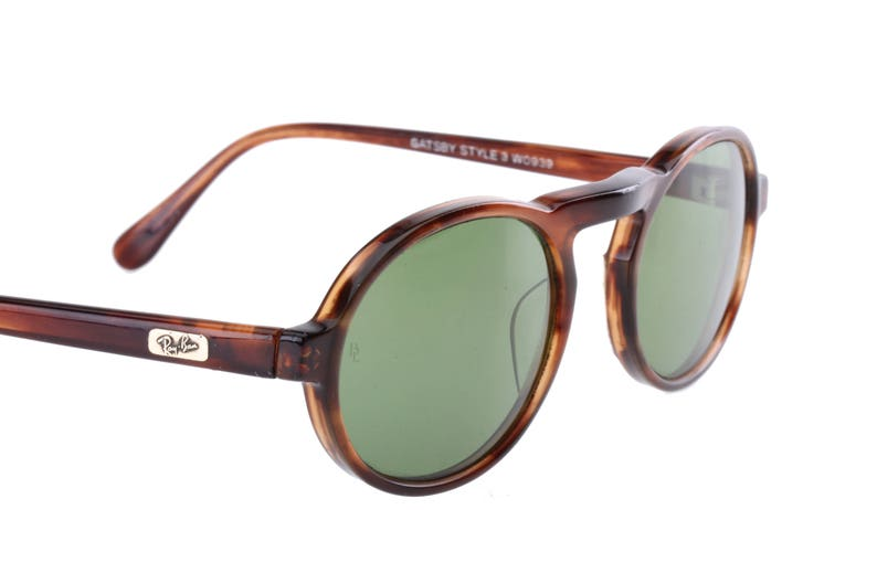 d536fa4f8a299 Rayban Gatsby style 3 W0939 vintage oval tortoise cello