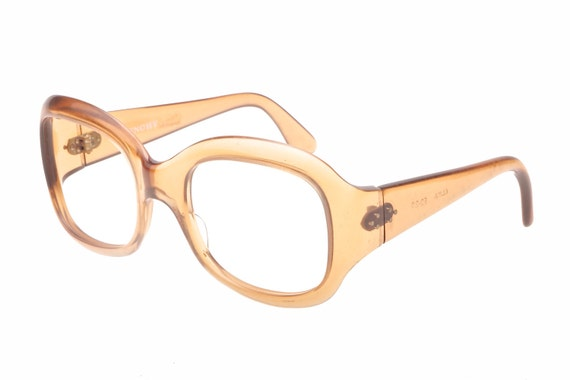 Givenchy translucent light brown oversized Onassis