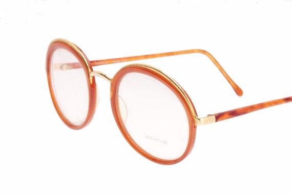 046347068348 Gianni Versace mod. 684 unusual vintage round golden metal