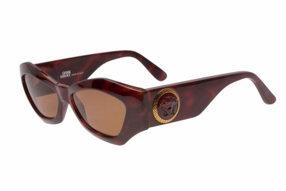Gianni Versace sunglasses Mod. 420 C medusa greek frame hand | Etsy