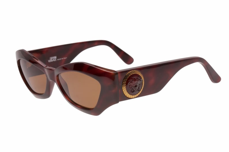 ed2bc2a93f065 Gianni Versace sunglasses Mod. 420 C medusa greek frame hand