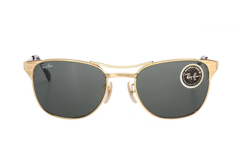 Ray Ban Signet Gold Vintage Sonnenbrille Bausch & Lomb