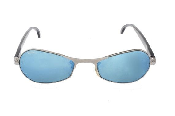 5dd17e0de367 Rayban Orbs W2350 sunglasses Bausch   Lomb blue mirrored