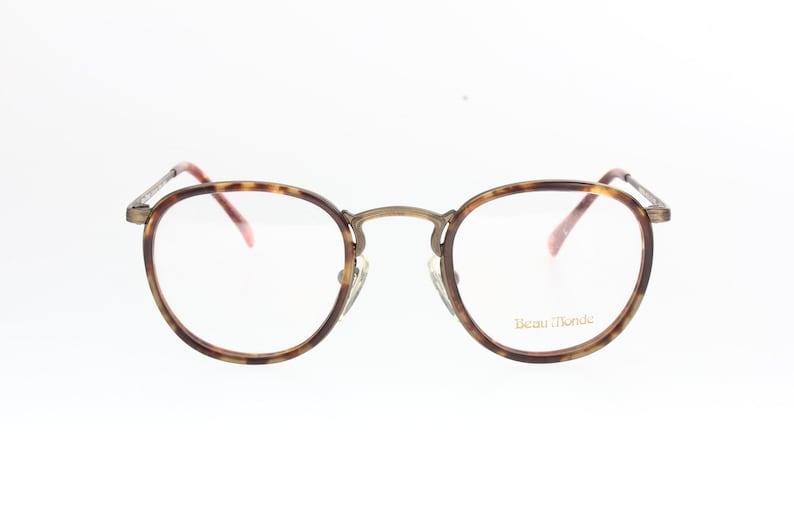 b5a52c3d89f8 Beau Monde Matsuda Kingston 80s round pantos eyeglasses