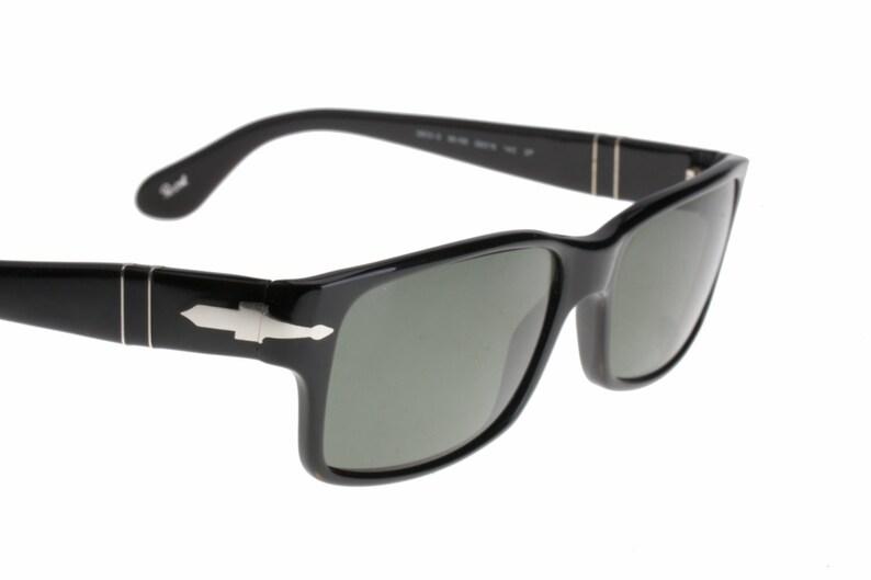 6e2006973c Persol 2803 black squared polarized sunglasses hand made in