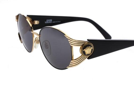78852b0e65 Gianni Versace S64 Sunglasses iconic medusa vintage oversized