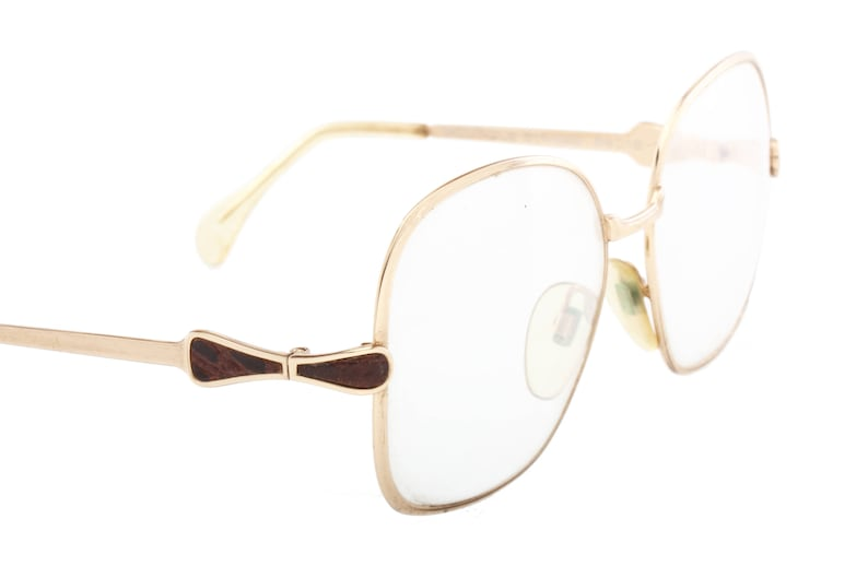 f13f46decb2 Neostyle Boutique vintage square oversized spectacles gold