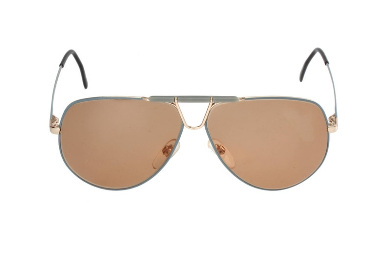 176ea5db8d08 Rodenstock Montreal shooter style aviator sunglasses in golden