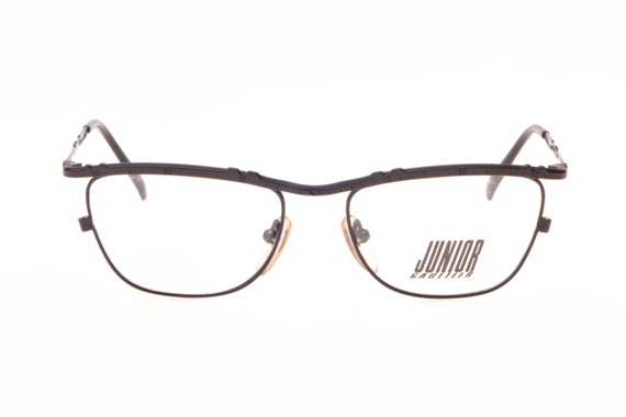 566fc661b68 Jean Paul Gaultier ladies matte black slightly cateye