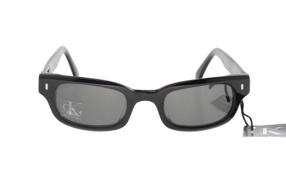 98b632ce62 Calvin Klein 4009 retro 50s square rockabilly sunglasses