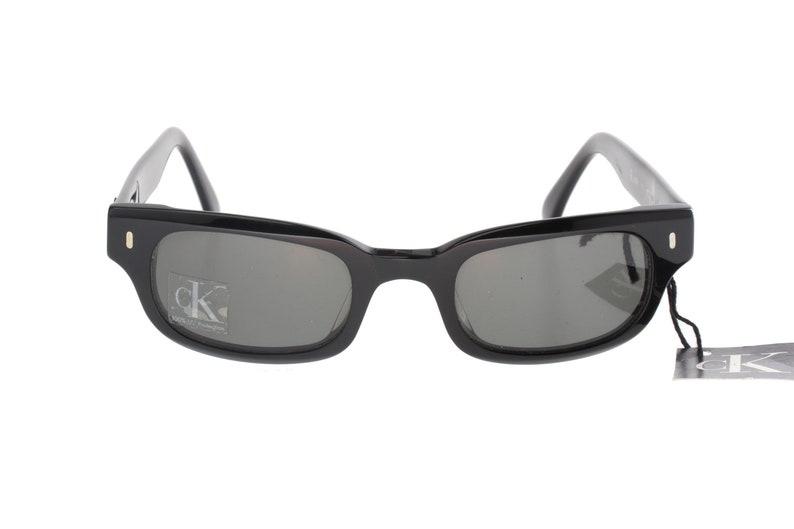 fd0d35fe86fa2 Calvin Klein 4009 retro 50s square rockabilly sunglasses