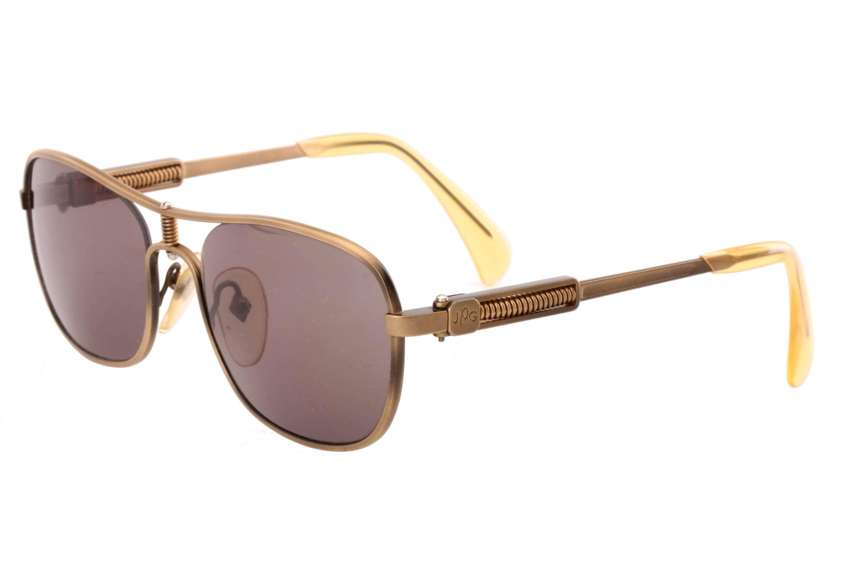3f57ec64f Jean Paul Gaultier 56 1171 vintage squared aviator sunglasses | Etsy