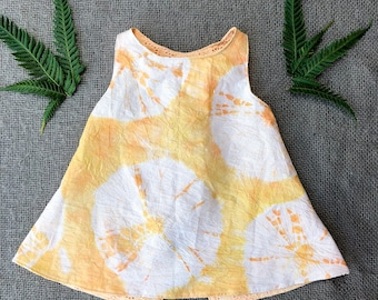Tie Dyed Smock Top size 3